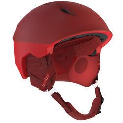 Skihelm voor pisteskiën volwassenen H PST 900 rood