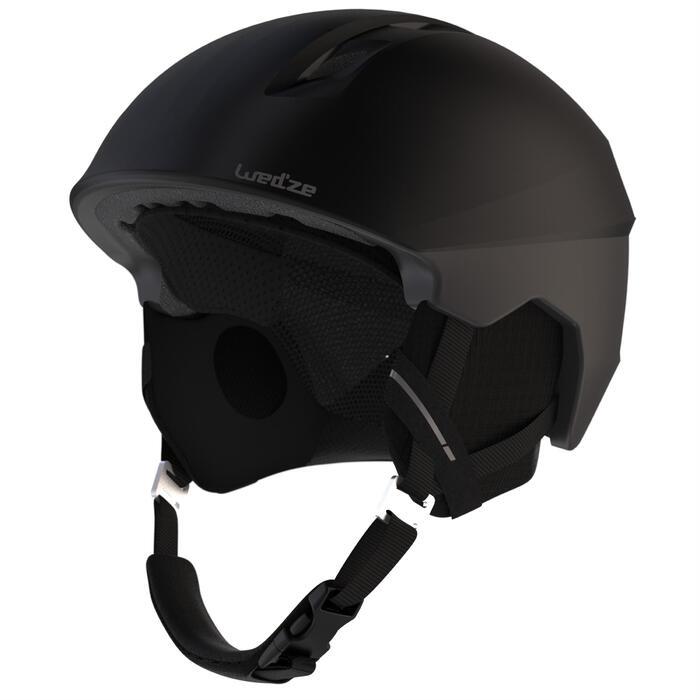 Skihelm H-PST 900 Erwachsene schwarz/grau