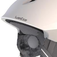 MEN'S ADULT DOWNHILL SKIING HELMET PST 900 - WHITE