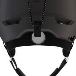 Skihelm H-PST 900 zwart en grijs