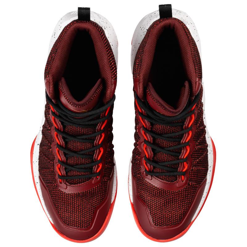 Men's Basketball Shoes Shield 500 - Burgundy/Red