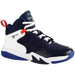 Basketbalschoenen SS500H marineblauw (kinderen)