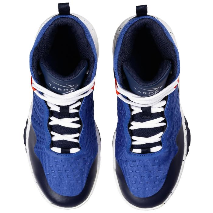 SS500H Boys'/Girls' Intermediate Basketball Shoes - Blue