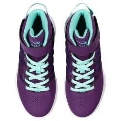 SE100 Boys'/Girls' Beginner Basketball Shoes - Purple