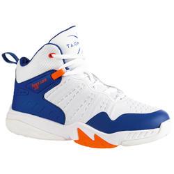 兒童款中階籃球鞋SS500H-藍白配色