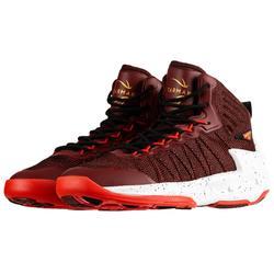 Chaussure de Basketball adulte confirmé Homme/Femme Shield 500 bordeaux rouge