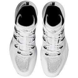 Basketbalschoenen voor heren SC500 wit/zwart hoog model