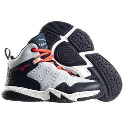 Basketbalschoenen voor gevorderde jongens/meisjes blauw navy SS500H