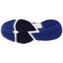 Zapatilla Baloncesto Tarmak SS500H Niños Azul Blanco