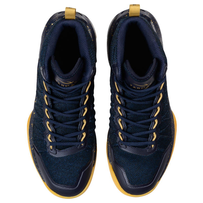 Men's Basketball Shoes Shield 500 - Blue/Gold