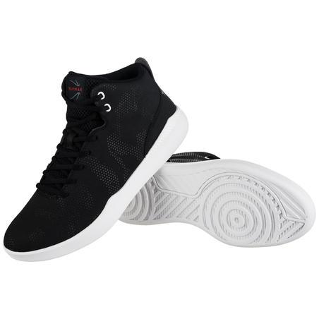 Protect 100 Sepatu Basket High-Rise untuk Pemula - Hitam