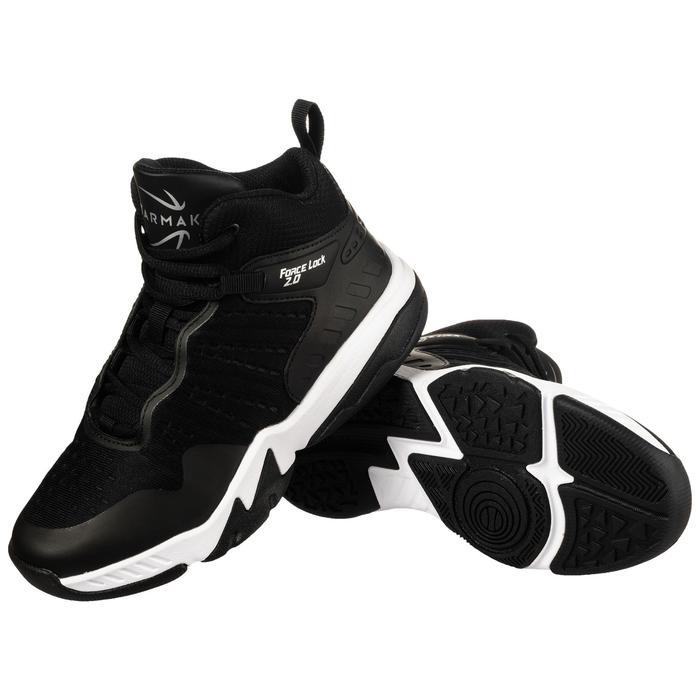 Zapatilla Baloncesto Tarmak SS500H Niños Negro