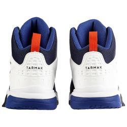 Basketballschuhe SS500H Kinder blau