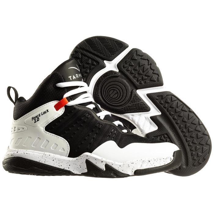 兒童款中階籃球鞋SS500H-黑色/白色