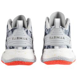 SC500 Women's Mid Basketball Shoes - Blue/Grey