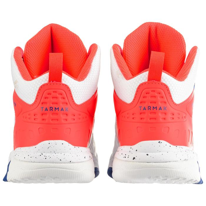 SS500H Boys'/Girls' Intermediate Basketball Shoes - White/Pink
