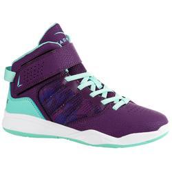 SE100 Boys'/Girls' Beginner Basketball Shoes - Purple