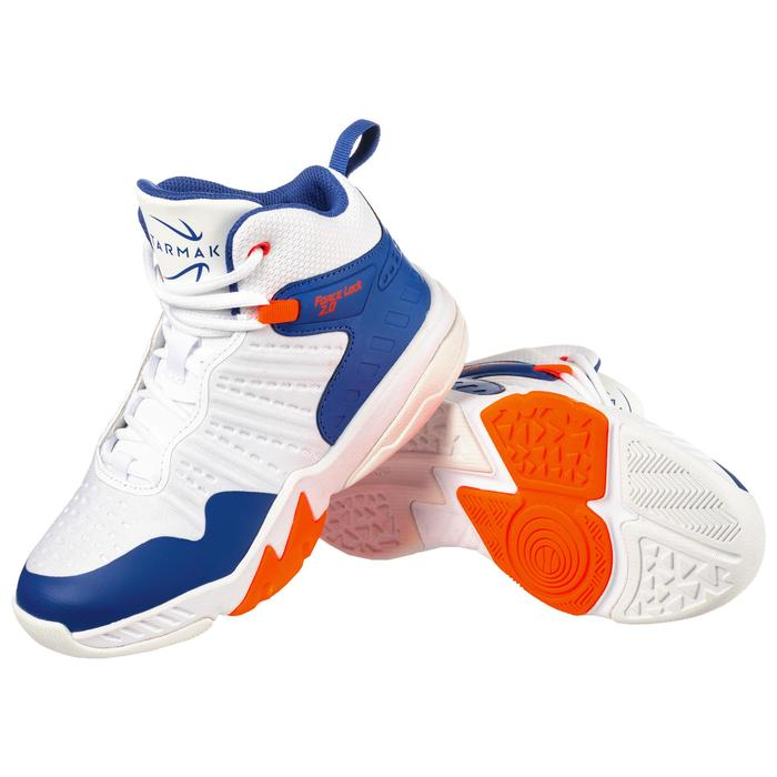 SS500H Boys'/Girls' Basketball Shoes For Intermediate Players - Blue/White