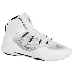 Basketbalschoenen volwassenen SC 500 High wit