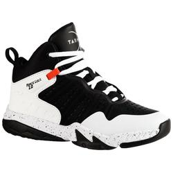 SS500H Boys'/Girls' Intermediate Basketball Shoes - Black/White