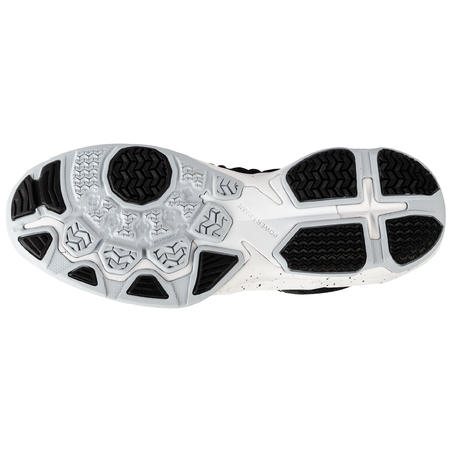 Shield 500 Basketball Shoes Black/White - Men's