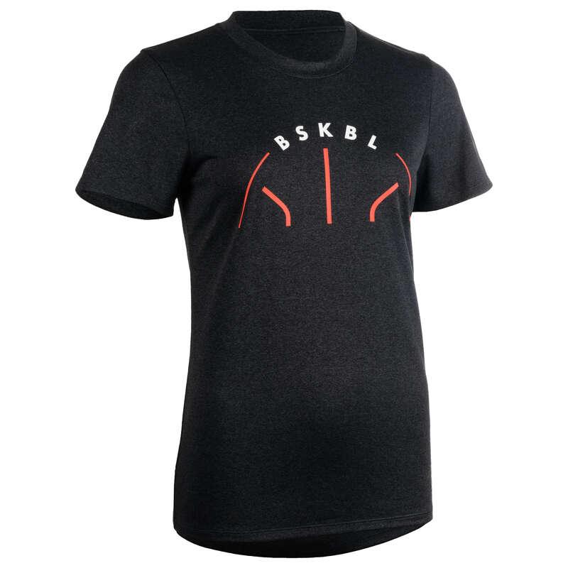 WOMAN BASKETBALL OUTFIT Koszykówka - Koszulka TS500 szara BSKBL  TARMAK - Odzież do koszykówki