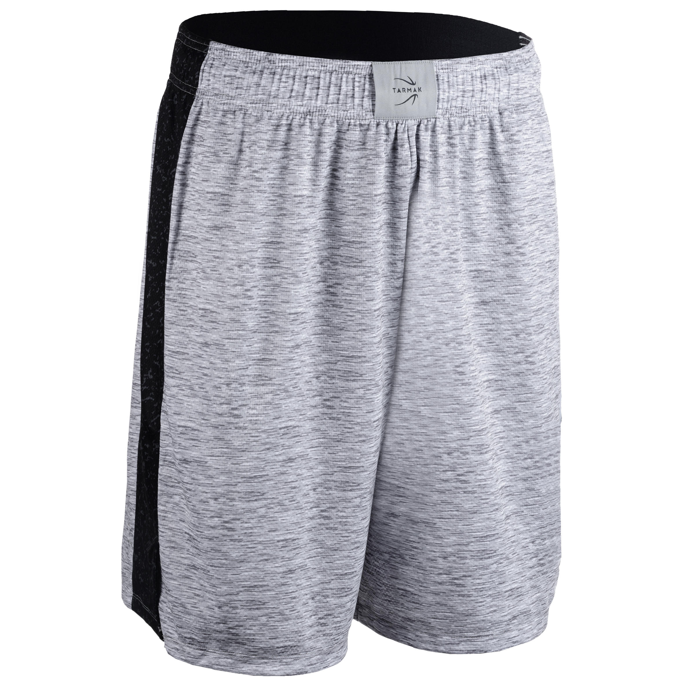 Basketballshorts SH500 Herren Fortgeschrittene grau   Sportbekleidung > Sporthosen > Basketballshorts   Grau - Blau   Tarmak