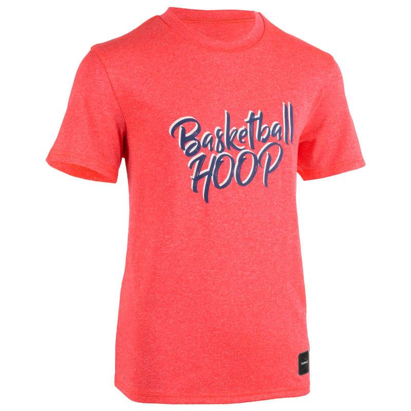 KIDS BASKETBALL OUTFIT Basketball - Kids' TS500 - Pink Basketball TARMAK - Basketball Clothes