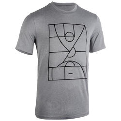 TS500 Playground Basketball Jersey - Light Grey