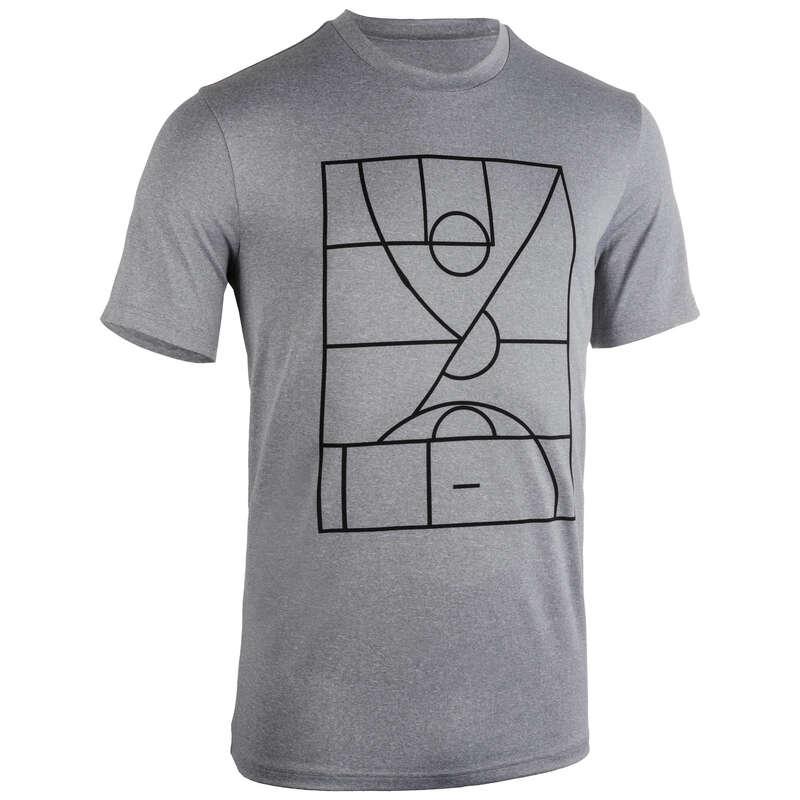 MAN BASKETBALL OUTFIT Basketball - Men's T-Shirt TS500 Playground TARMAK - Basketball Clothes