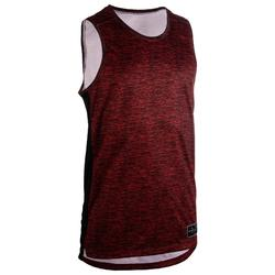 T500 Sleeveless Basketball Jersey For Intermediate Players