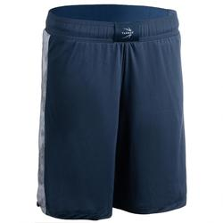 Basketbalshort SH500 navy/grijs (dames)