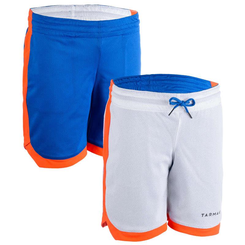 KIDS BASKETBALL OUTFIT Basketball - SH500R Basketball Shorts Blue TARMAK - Basketball