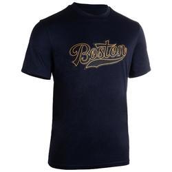 Camiseta de baloncesto TS500 Hombre Azul Marino Boston