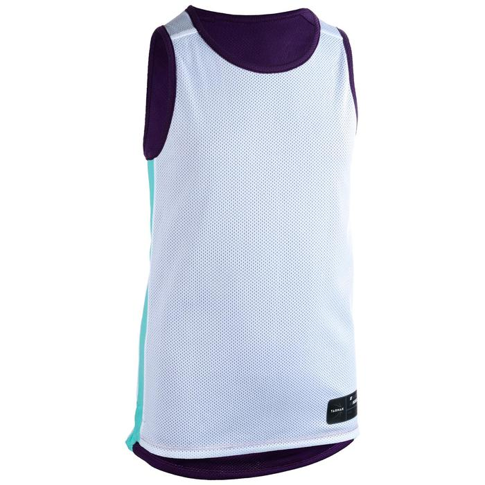 842a95822 T500R Boys  Girls  Intermediate Basketball Reversible Jersey -  Purple Chicago