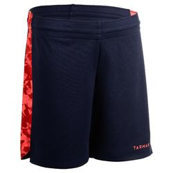 SHORT DE BASKETBALL POUR GARCON/FILLE CONFIRME(E) NAVY ROSE SH500