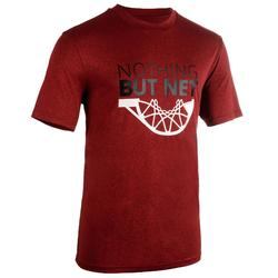 Basketbalshirt TS500 'Nothing but Net' rood (heren)