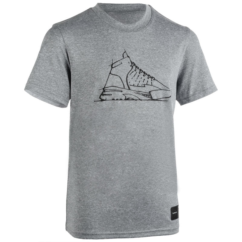 Girls'/Boys' Basketball T-Shirt / Jersey TS500 - Grey Shoe