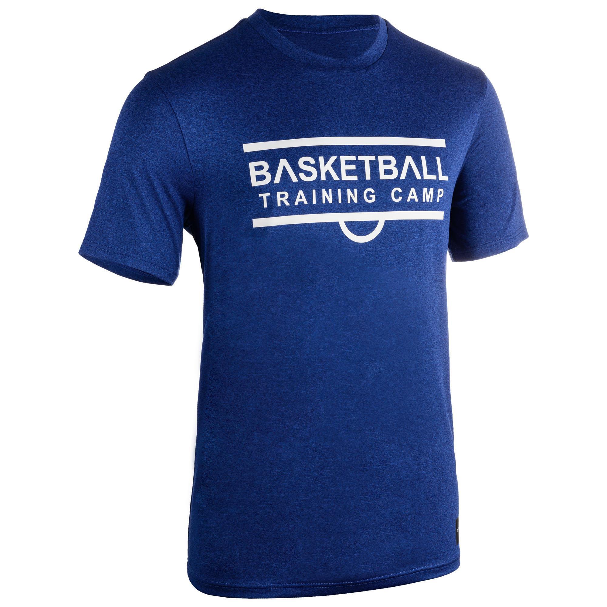 Basketballtrikot TS500 Herren marineblau Shoot | Sportbekleidung > Trikots > Basketballtrikots | Blau | Tarmak