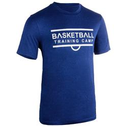 Basketbalshirt TS500 'Shoot' marineblauw (heren)