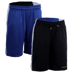 SH500R Women's Basketball Reversible Shorts - Blue/Black