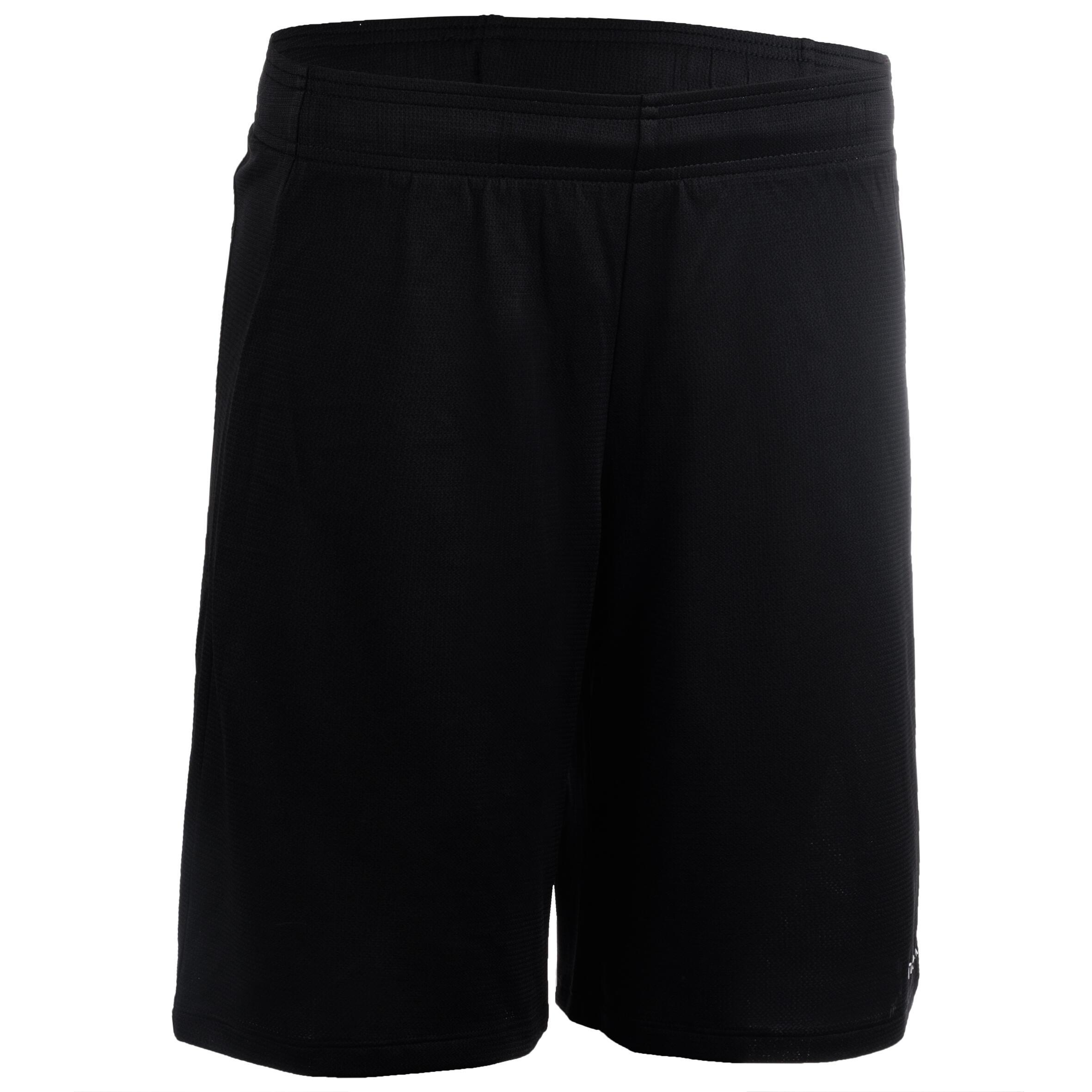 Basketballshorts SH100 Damen schwarz | Sportbekleidung > Sporthosen > Basketballshorts | Schwarz - Weiß | Tarmak