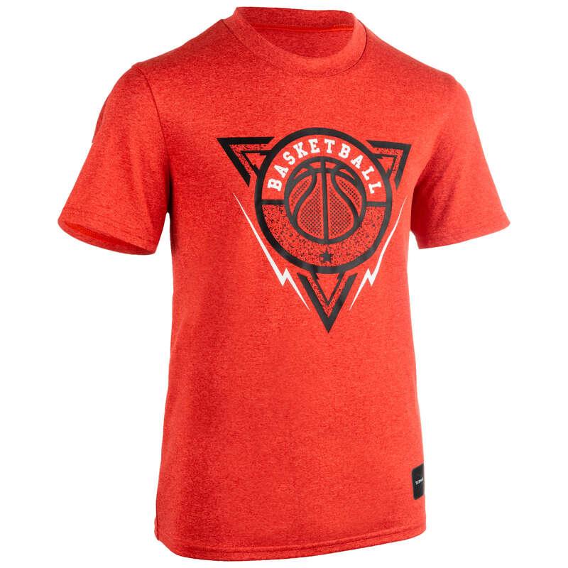 KIDS BASKETBALL OUTFIT Basketball - Kids' TS500 - Red Triangle TARMAK - Basketball Clothes