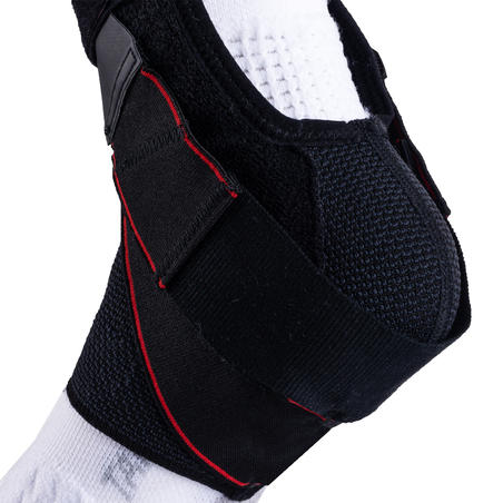Tobillera izquierda/derecha sujeción de ligamentos hombre/mujer STRONG 500 negro
