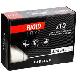 Boîte de 10 bandes de strap rigide blanc pour tous vos strappings de maintien.