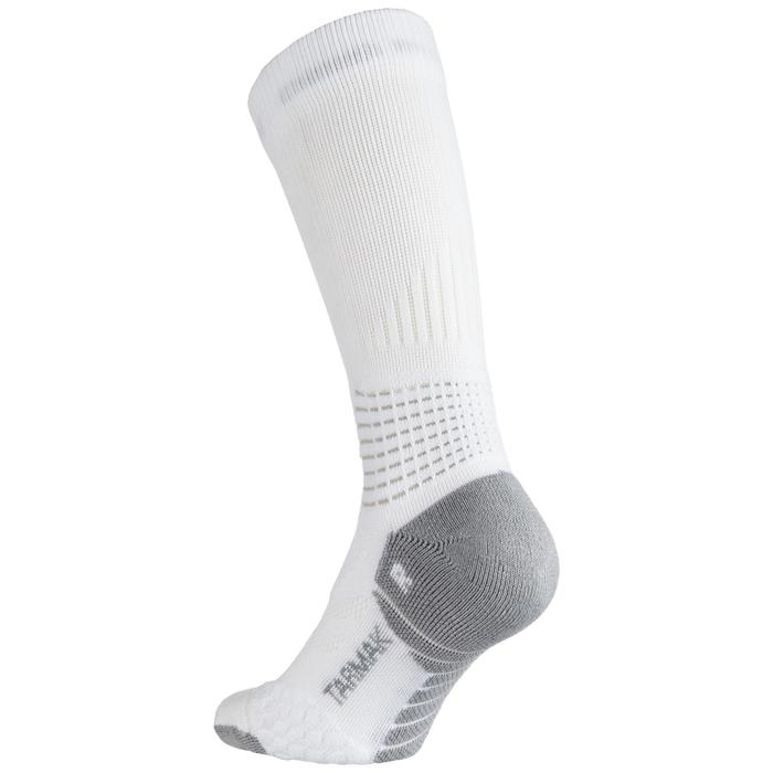 SO900 Mid Advanced Adult Basketball Socks - White / Grey