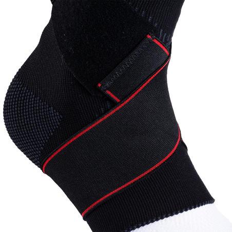 Chevillère de maintien ligamentaire gauche/droite Solide 100 noire = H/F
