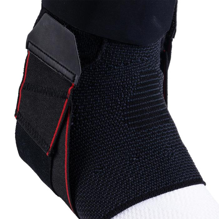 Strong 500 Men's/Women's Right/Left Ankle Ligament Support - Black