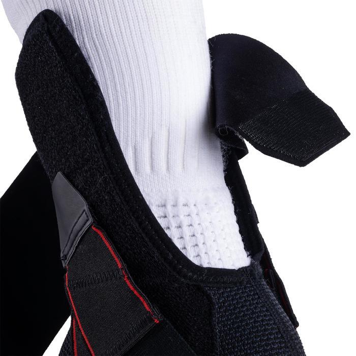 Knöchelbandage Strong 500 Bänderstütze links/rechts Erwachsene schwarz