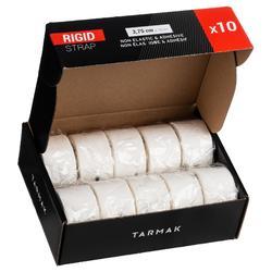 Venda Sujeción Rígida Adhesiva 3,75 cm x 10 m Caja de 10 Unidades Blanco